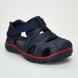 NWT Toddler Boys Fargo Land & Water Shoes Navy 7